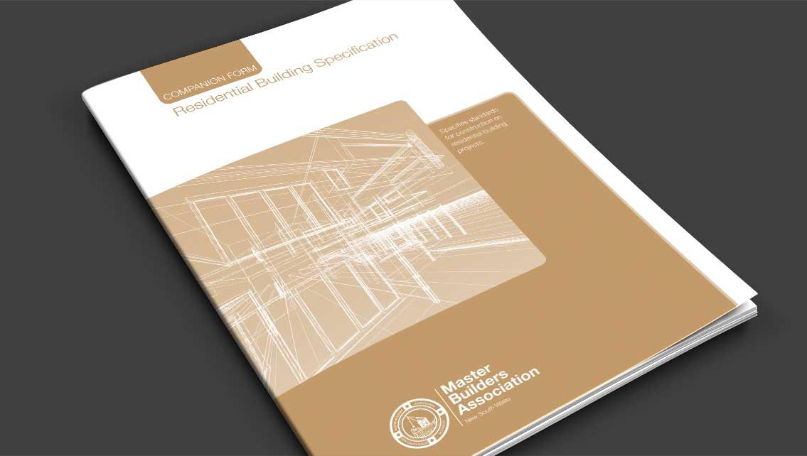 Residential Building Specification Cover