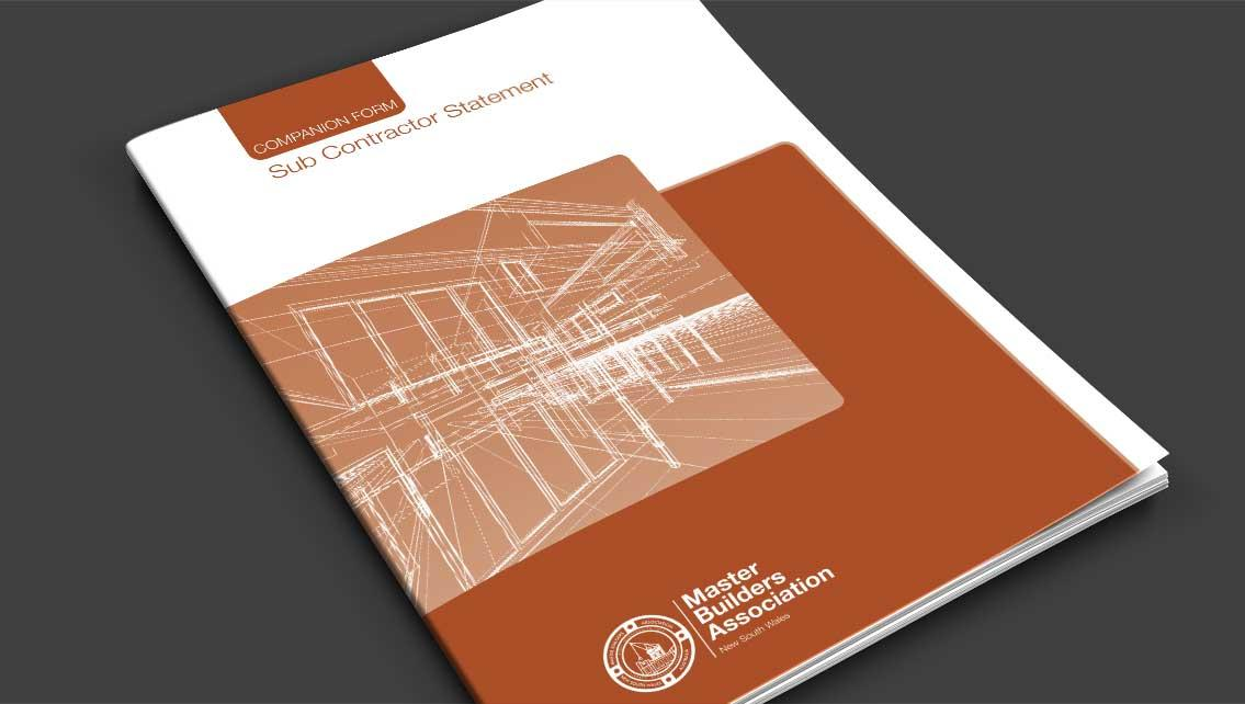 Subcontractor Statement Cover
